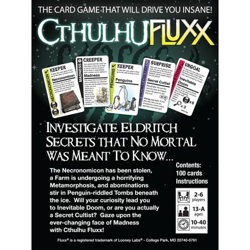 Fluxx Cthulhu Card Game Target