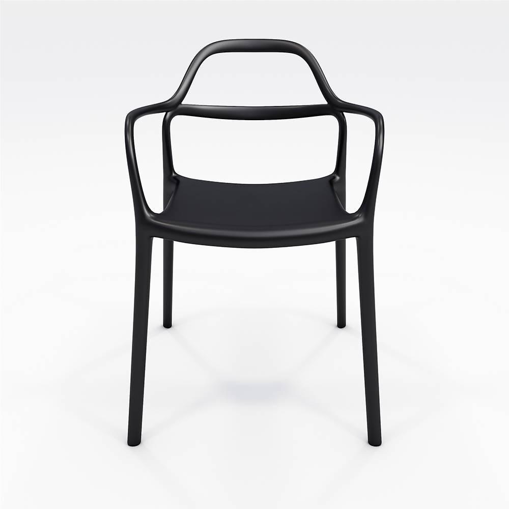 Dali Indoor/Outdoor Chair Black - Olio Designs Reviews