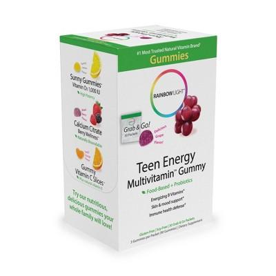 Multivitamins: Rainbow Light Teen Energy Multivitamin Gummies