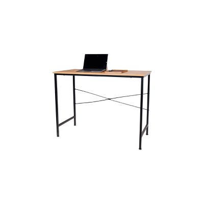 Bellamy Computer Desk Classic Oak - OneSpace