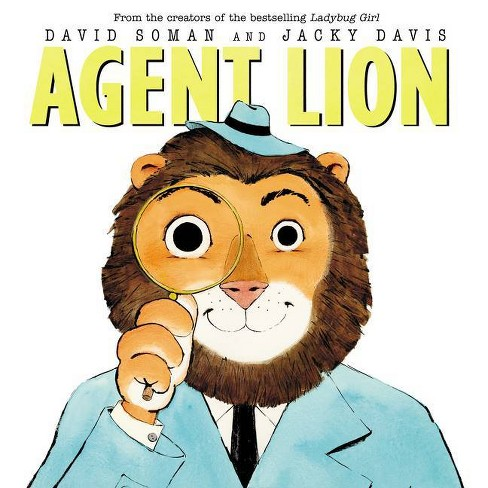Agent Lion - by  Jacky Davis & David Soman (Hardcover) - image 1 of 1