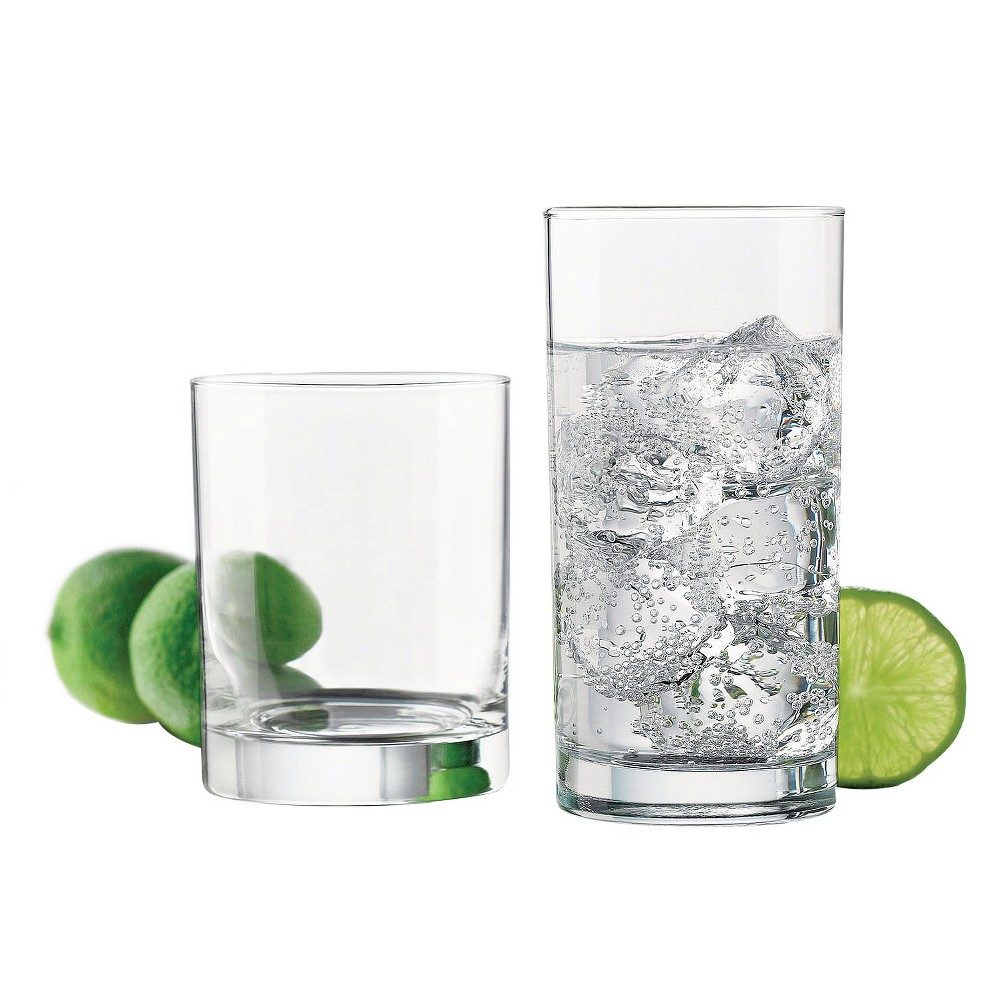 Libbey 12pc Assorted Glass Tumblers