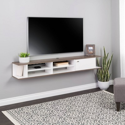 Wall Mounted Media Console with Door - Prepac