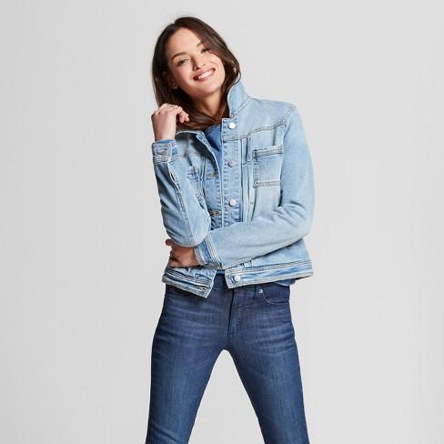be417a6402 Women's Denim Jacket - Universal Thread™ Blue