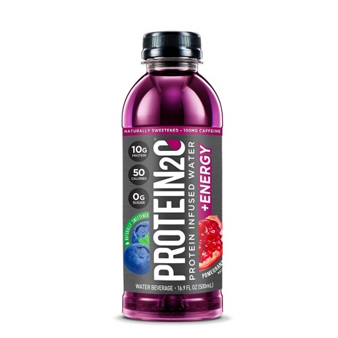 Protein2o Acai Blueberry Pomegranate Protein Infused Water - 16.9 fl oz Bottle - image 1 of 1