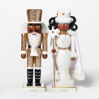Decorative Figurine Nutcracker and Snow Queen - Wondershop™
