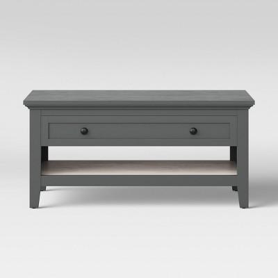 Carson Coffee Table Gray - Threshold™