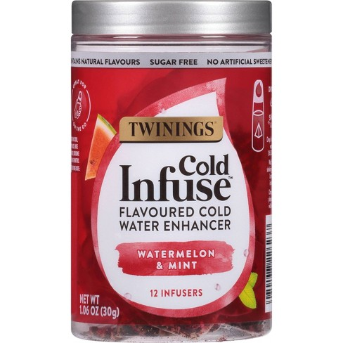 Twinings Cold Infuse Watermelon & Mint Tea - 12ct - image 1 of 4