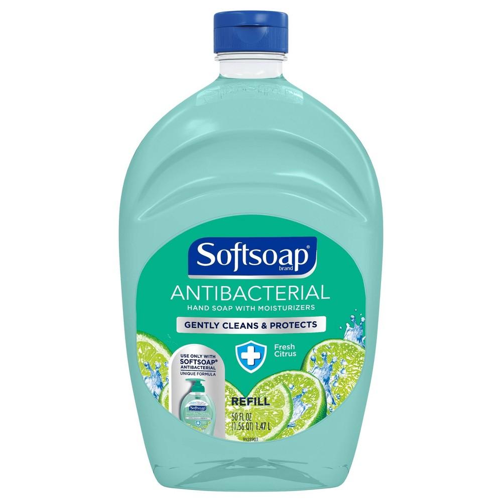 Image of Softsoap Antibacterial Liquid Hand Soap Refill - Fresh Citrus - 50 fl oz