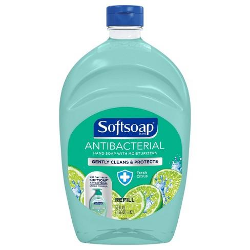 Softsoap Antibacterial Liquid Hand Soap Refill - Fresh Citrus - 50 fl oz - image 1 of 3