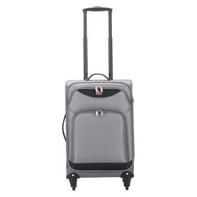 InUSA Light-Fi 24  Spinner Suitcase - Gray