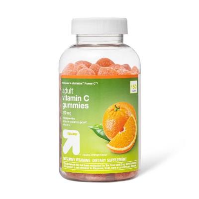 Vitamin C Gummies - Orange - 150ct - up & up™