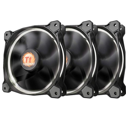 Thermaltake Riing 12 LED 120mm Case Fan - Three Pack - image 1 of 4