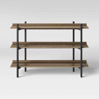 Taft 3 Shelves Console Brown - Threshold™
