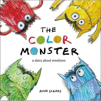 Color Monster Story About Emotions by Anna Llenas (Board Book)
