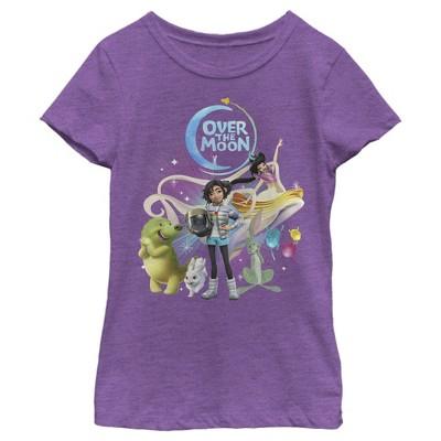 Girl's Over the Moon Astronaut Adventurers T-Shirt