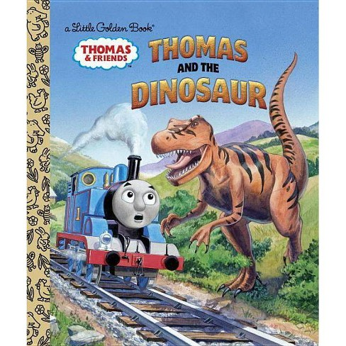 Thomas and the Dinosaur (Thomas & Friends) - (Little Golden Book) (Hardcover) - image 1 of 1