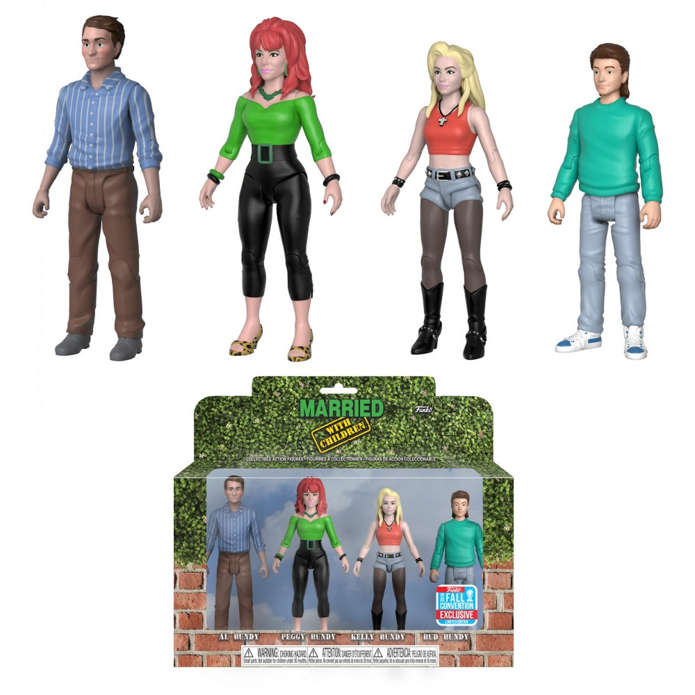 Funko Action Figure Married with Children 4pk