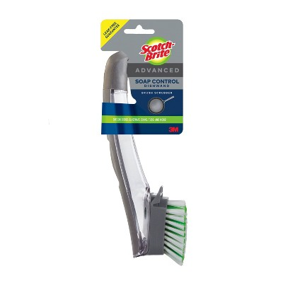 Scotch-Brite Advanced Soap Control Brush Scrubber Dishwand