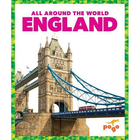 England - (All Around the World) by  Jessica Dean (Hardcover) - image 1 of 1