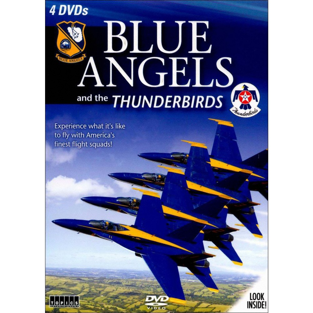 Blue angels and the thunderbirds (Dvd)