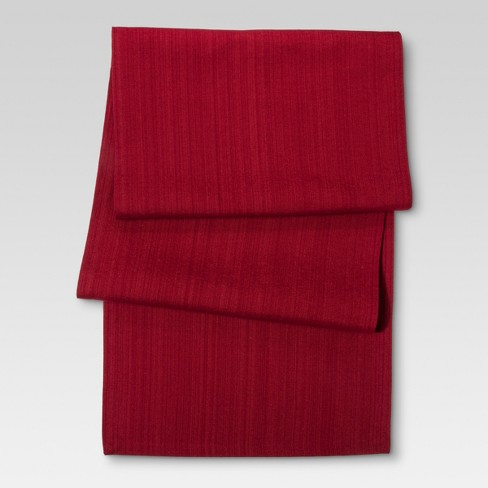Red Kitchen Textiles Table Runner - Threshold™ - image 1 of 1