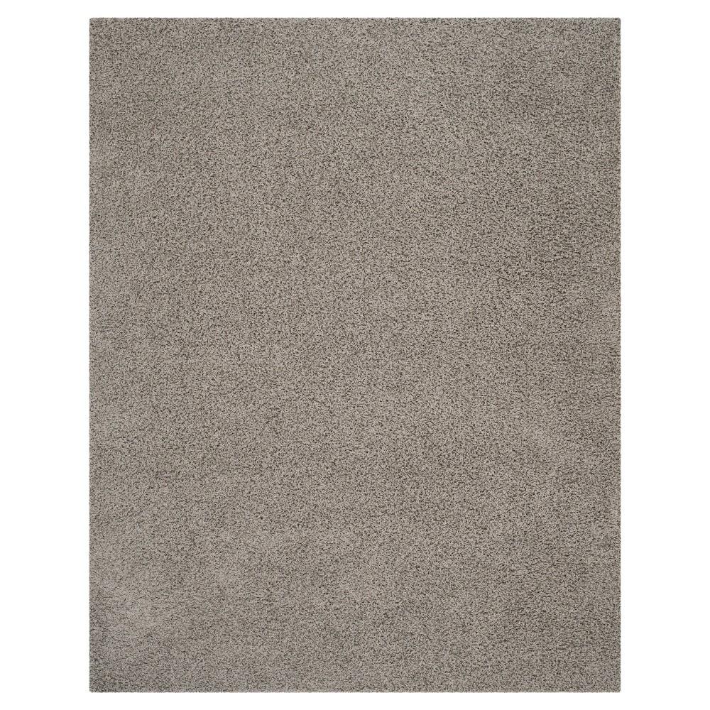 Light Gray Solid Loomed Area Rug - (9'x12') - Safavieh