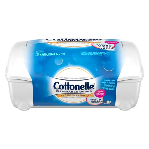 Cottonelle® Fresh Care Flushable Cleansing Cloths Refill - image 1 of 5