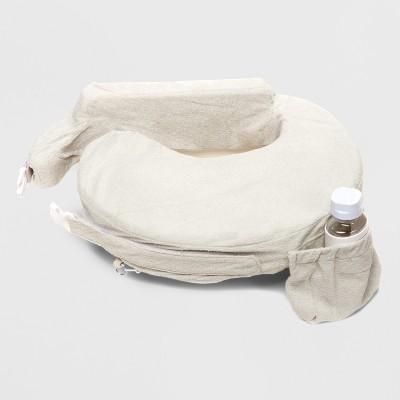 My Brest Friend Deluxe Nursing Pillow - Heather Gray