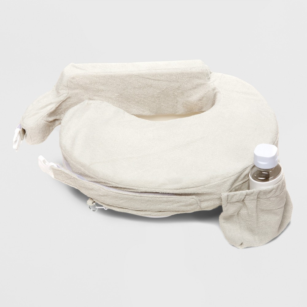 Image of My Brest Friend Deluxe Nursing Pillow - Heather Gray