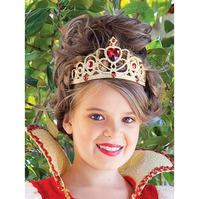Princess Paradise Red and Gold Princess Child Tiara