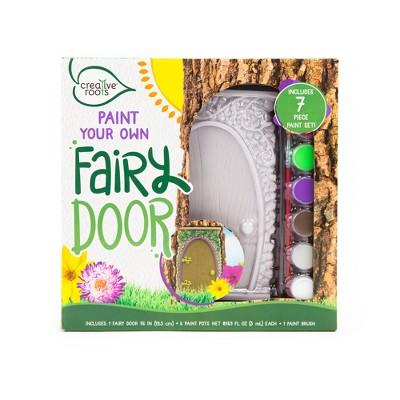 Creative Roots Paint Your Own Fairy Door Kit