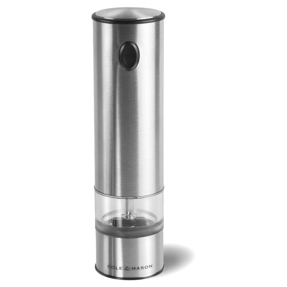Image of Cole & Mason Battersea Electronic Pepper Mill, Silver
