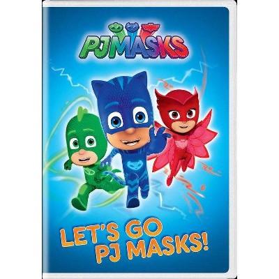 PJ Masks: Let's Go Pj Masks (DVD)