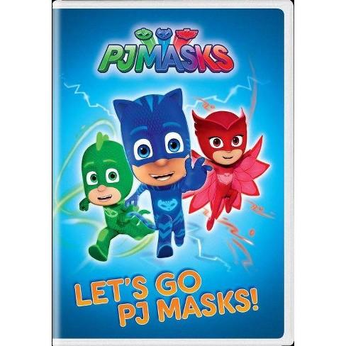 PJ Masks: Let's Go Pj Masks (DVD) - image 1 of 1
