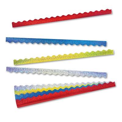 Trend Terrific Trimmers Sparkle Border Variety Pack 2 1/4 x 39 Panels Asstd 40/Set T92901