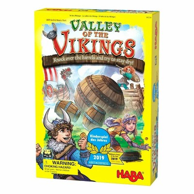 HABA Valley of The Vikings - Knock Down Barrels & Steal the Most Coins