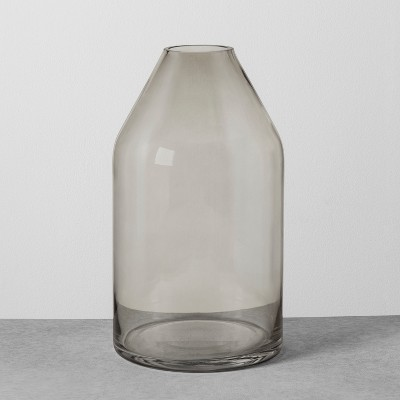Smoke Glass Jug Vase - Large - Hearth & Hand™ with Magnolia