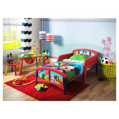 Disney Mickey Mouse Plastic Toddler Bed - Delta Children