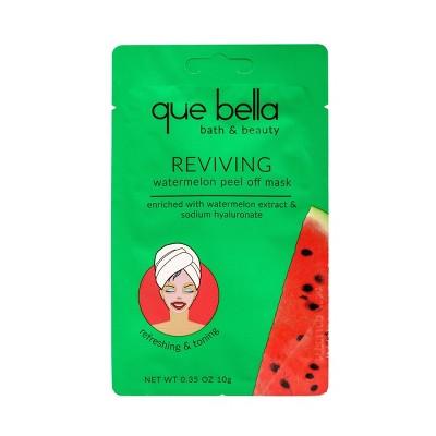Que Bella Reviving Watermelon Peel Off Face Mask - 0.35oz