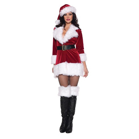 Women's Secret Santa Costume - image 1 of 1
