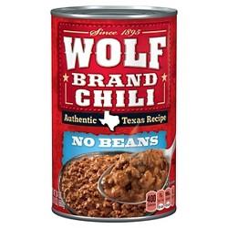 Wolf Brand Chilli - 24 oz