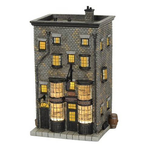 Department 56 - Harry Potter Village - Ollivander's Wand Shop Lighted Building, 7.88-inches - image 1 of 3