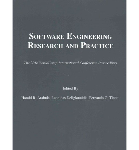 Software Engineering Research and Practice (Paperback) - image 1 of 1