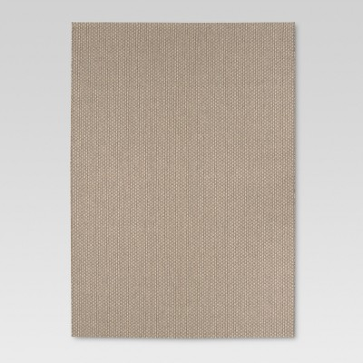 Oatmeal Basketweave Outdoor Rug - 5'x7' - Smith & Hawken™