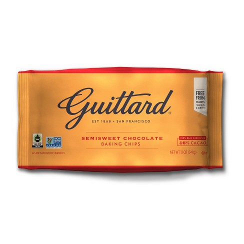 Guittard Semisweet Chocolate Baking Chips - 12oz - image 1 of 3