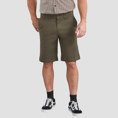"""Dickies Men's X-Series FLEX 11"""" Active Waist Washed Chino Shorts"""