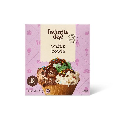 Waffle Bowls - 10ct - Favorite Day™