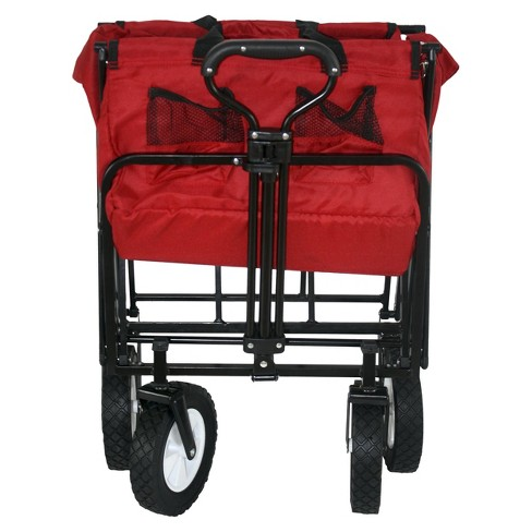 Mac Sports Folding Wagon - Red   Target 8387fe195