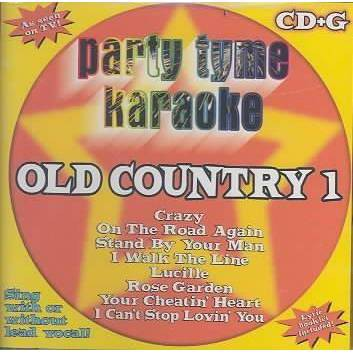 Party Tyme Karaoke - Party Tyme Karaoke - Old Country 1 (8+8-song CD+G)